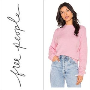 Free People Pink Sweater S